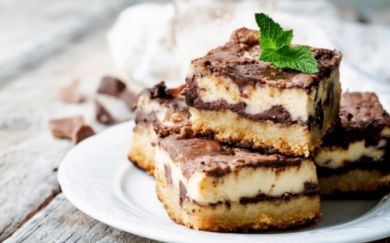 Resep Brownies dengan Cream Cheese